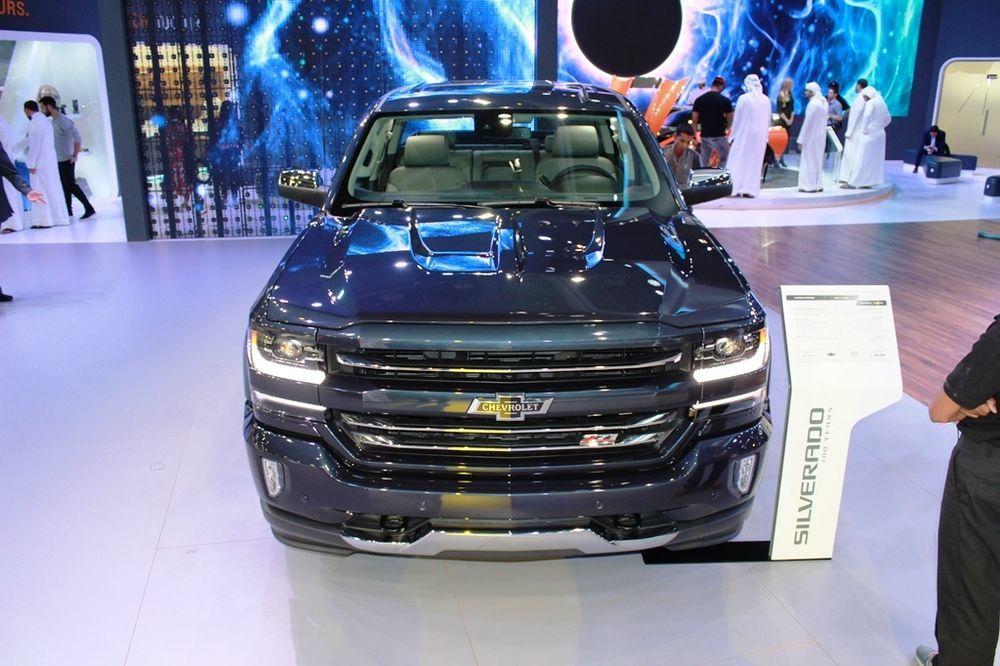 Chevrolet Silverado Centennial Edition 2018 front