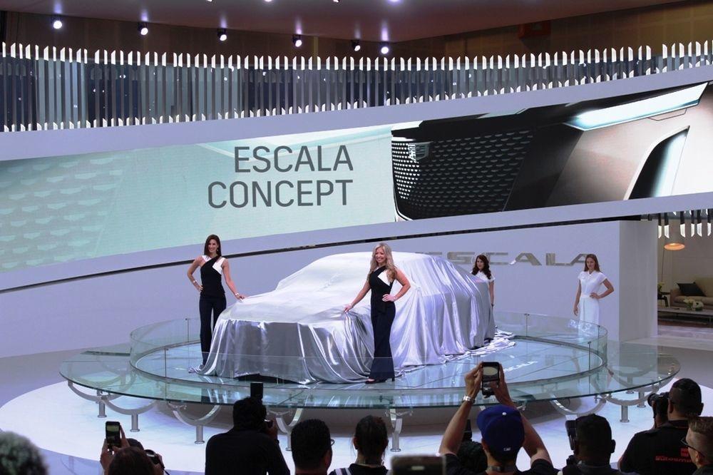 Cadillac Escala 2018 Front