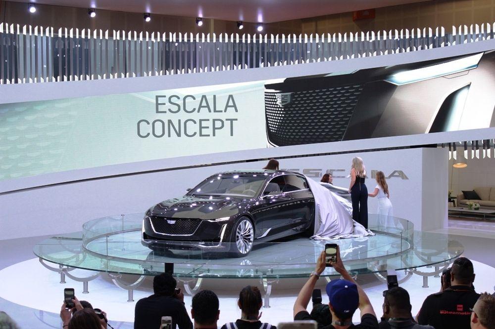 Cadillac Escala 2018 Dubai Motor Show