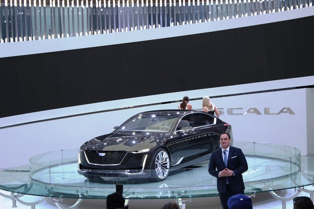Cadillac Escala Dubai Motor Show