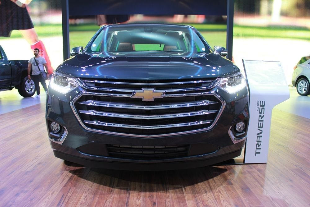 Chevrolet Traverse 2018 front
