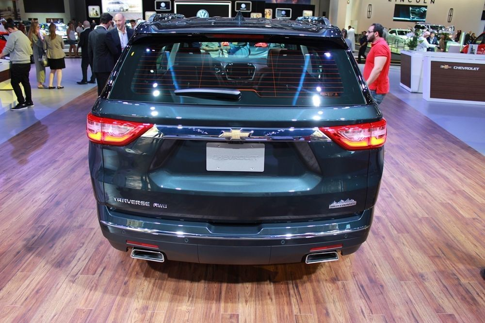 Chevrolet Traverse 2018 rear