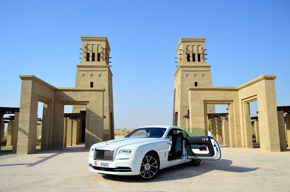 Rolls Royce Wraith Spirit of the Union Side