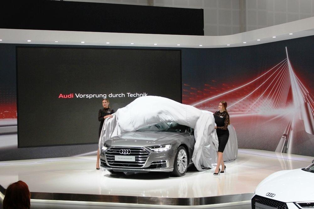 Audi A8 2018 Front - 2