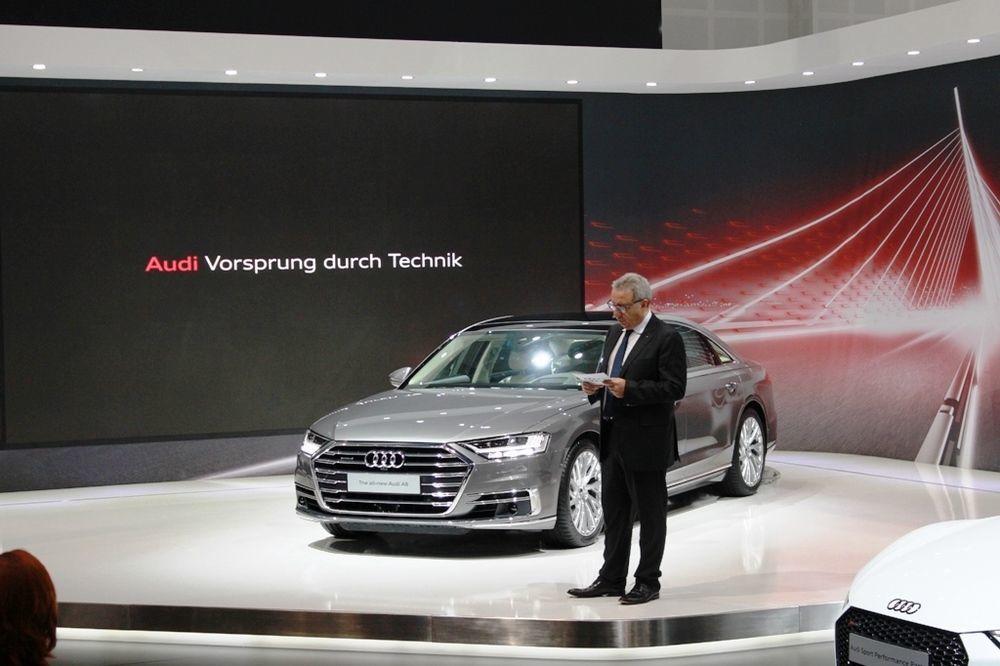 Audi A8 2018 Front - 3
