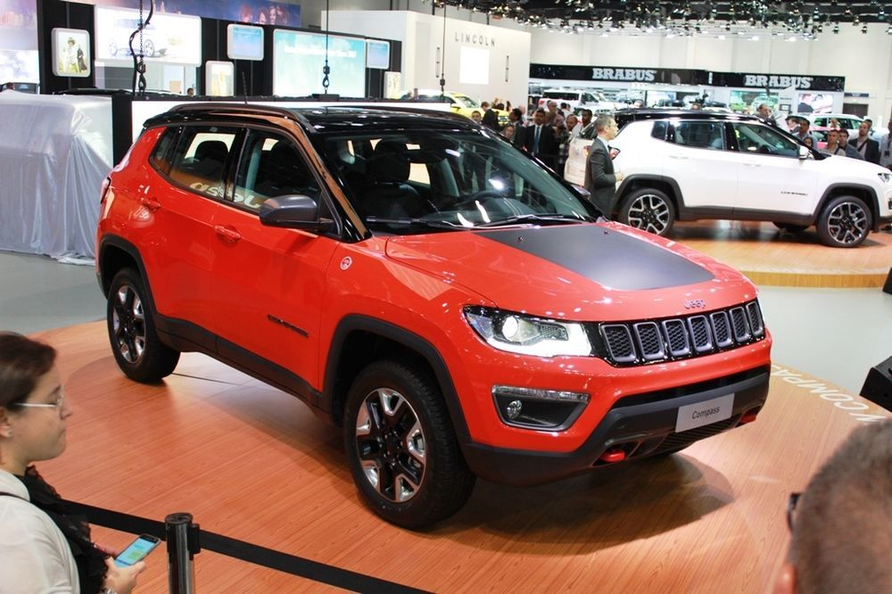 Jeep Compass 2018 Side