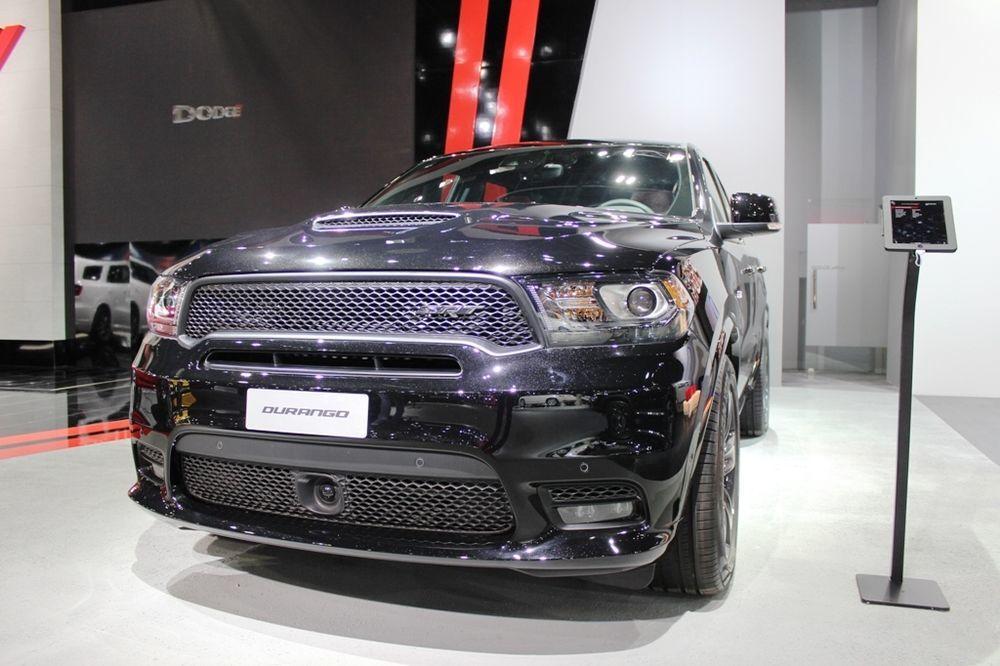 Dodge Durango SRT Stuns Crowds At Dubai Motor Show Qatar YallaMotor - Durango car show