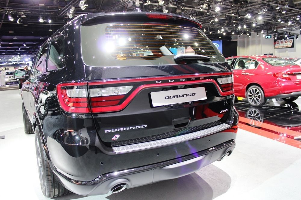 Dodge Durango SRT 2018 Rear
