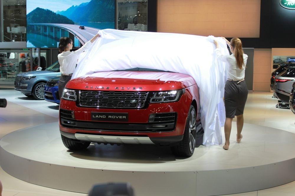 Range Rover 2018 Dubai Motor Show