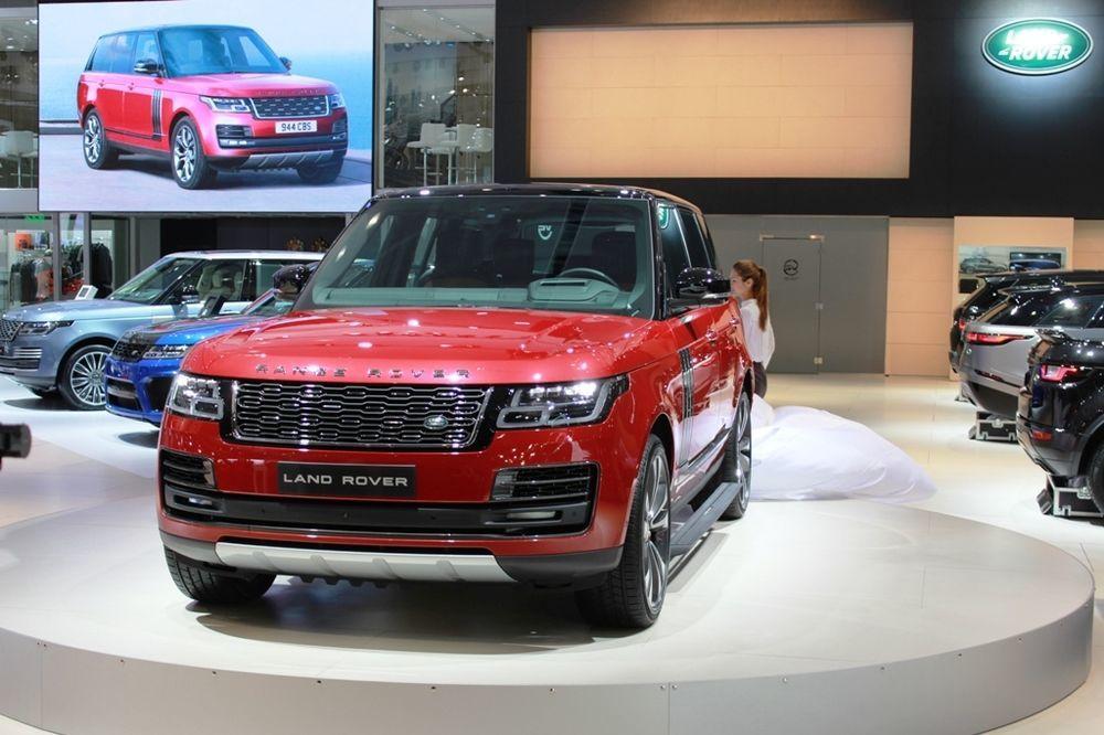 Range Rover 2018 Front Dubai Motor Show