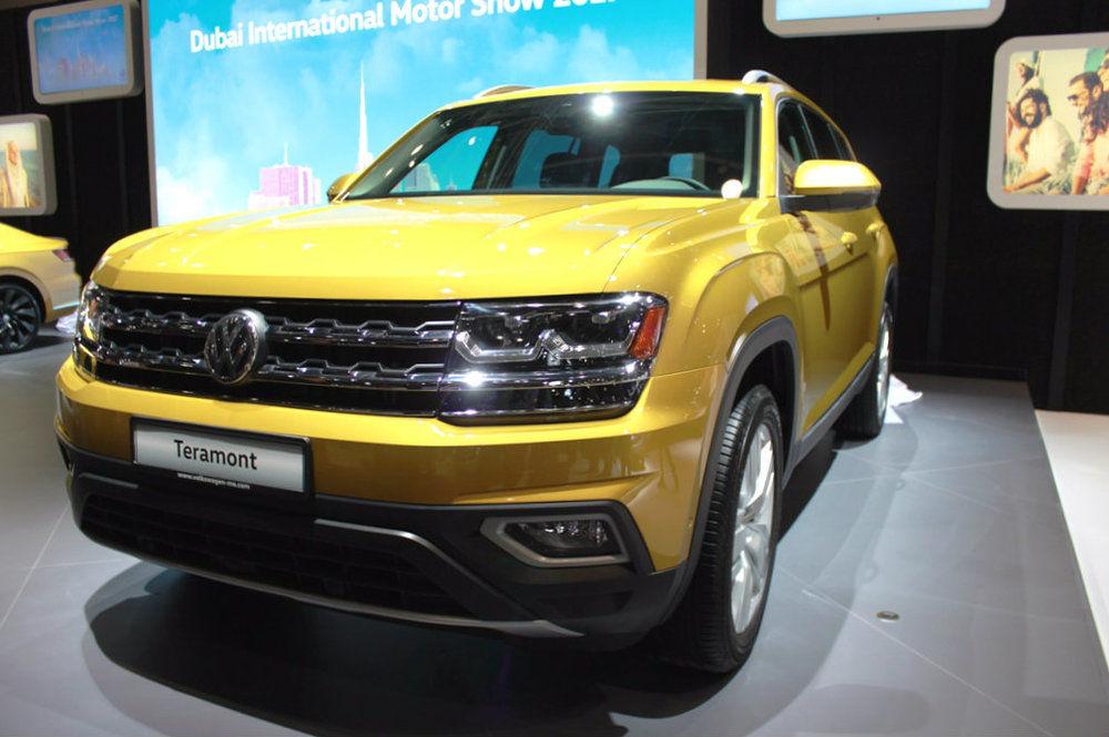 Volkswagen Terramont 2018 Dubai Motor Show