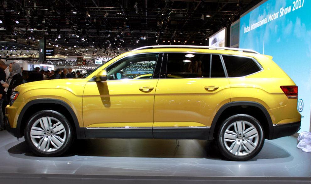 Volkswagen Terramont 2018 Side
