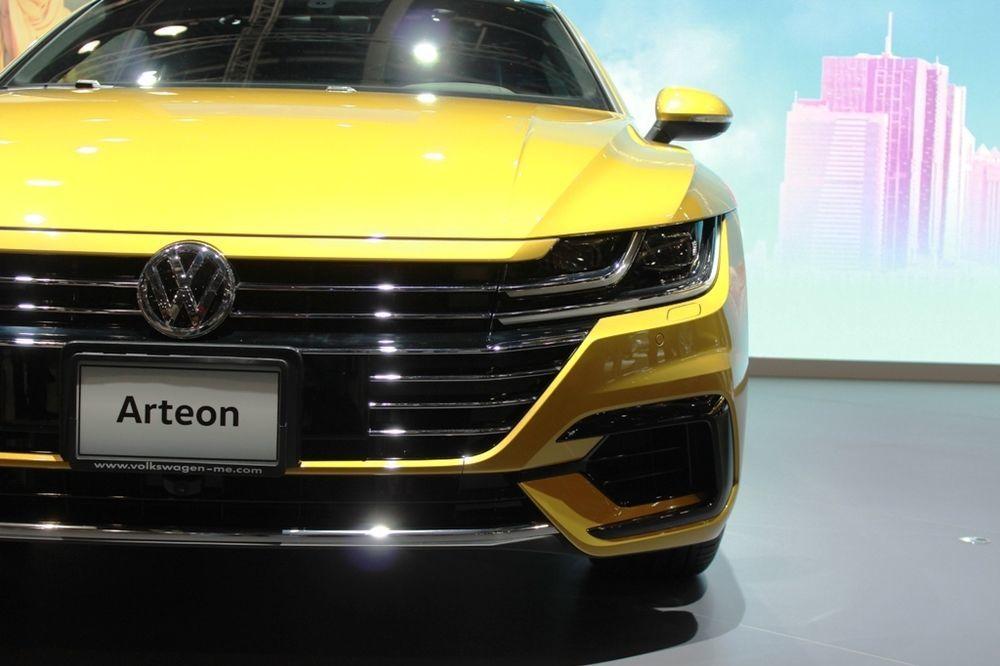 Volkswagen Arteon 2018 Front
