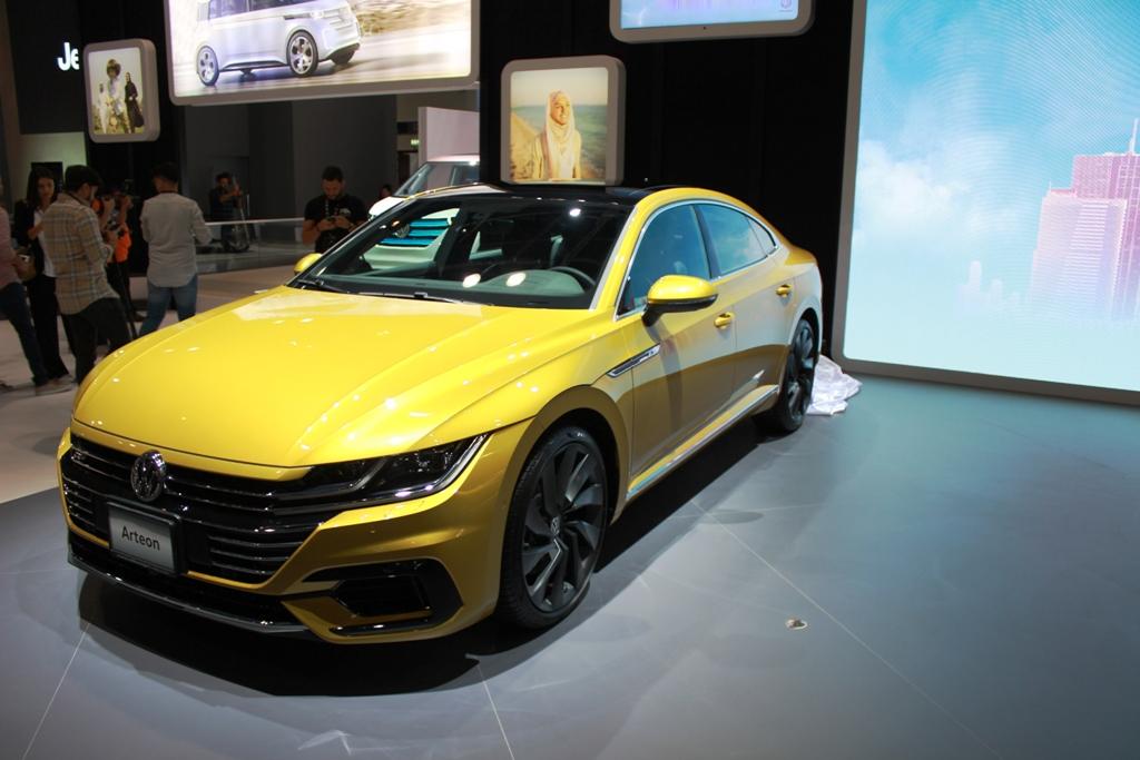 Volkswagen Arteon 2018 at Dubai Motor Show | UAE - YallaMotor