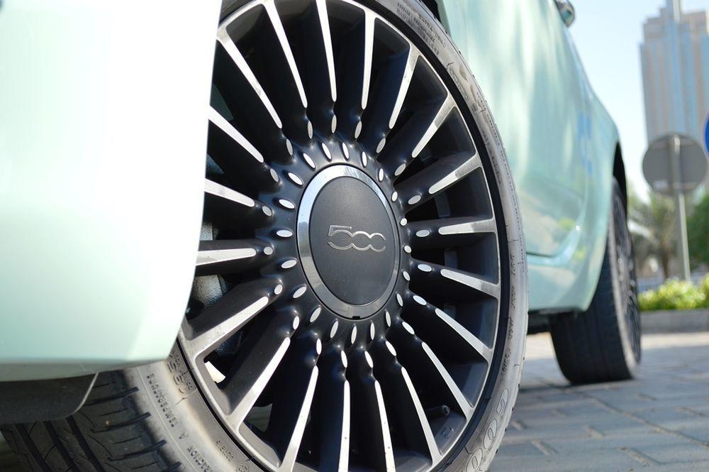 Fiat 500 2017 Wheels