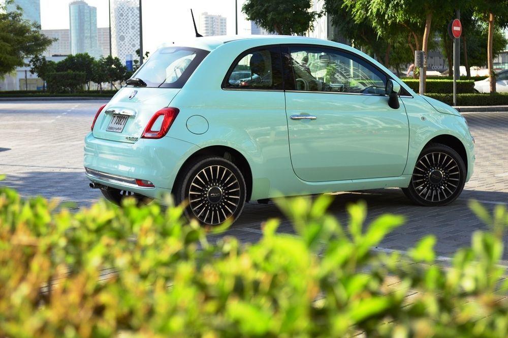 Fiat 500 2017 Rear