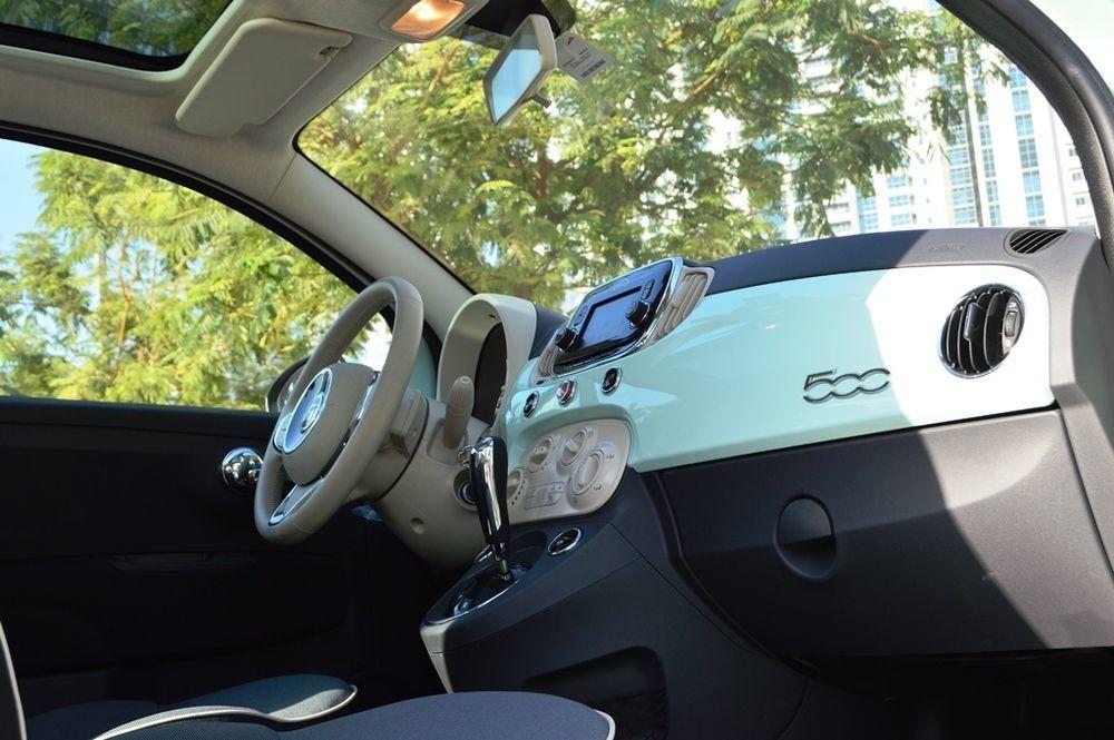 Fiat 500 2017 Interior
