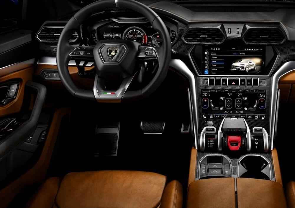 Lamborghini Urus 2018 Interior