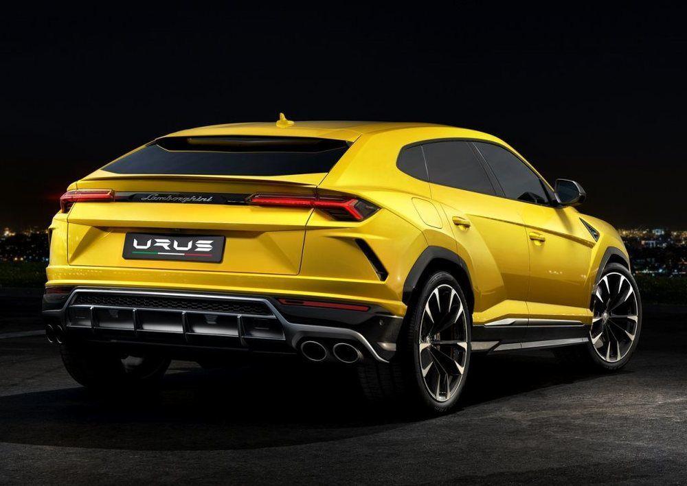 Lamborghini Urus 2018 Rear