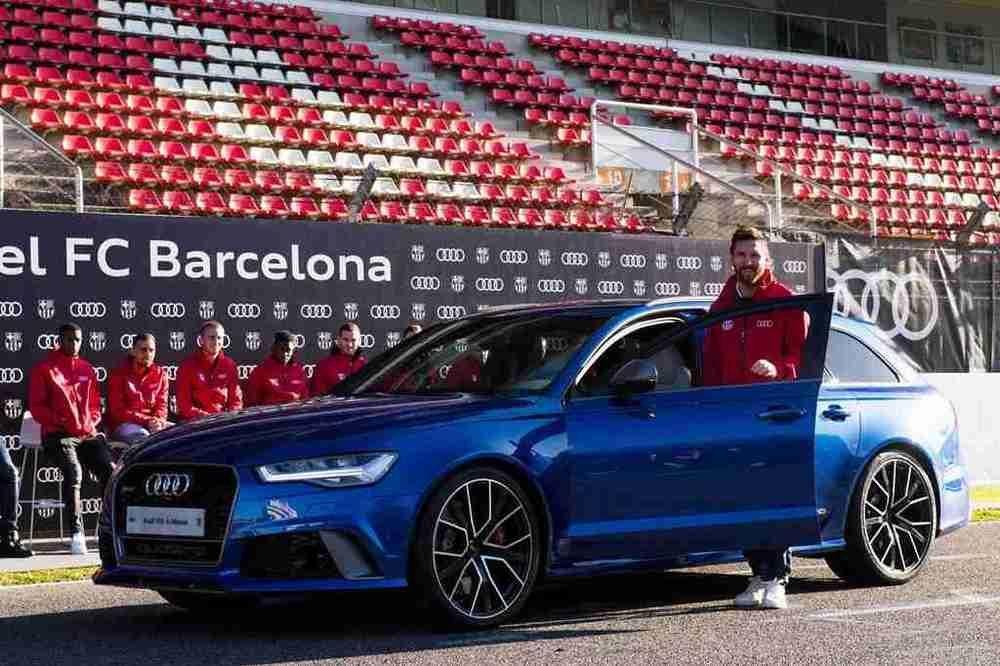 Lionel Messi Barca Audi