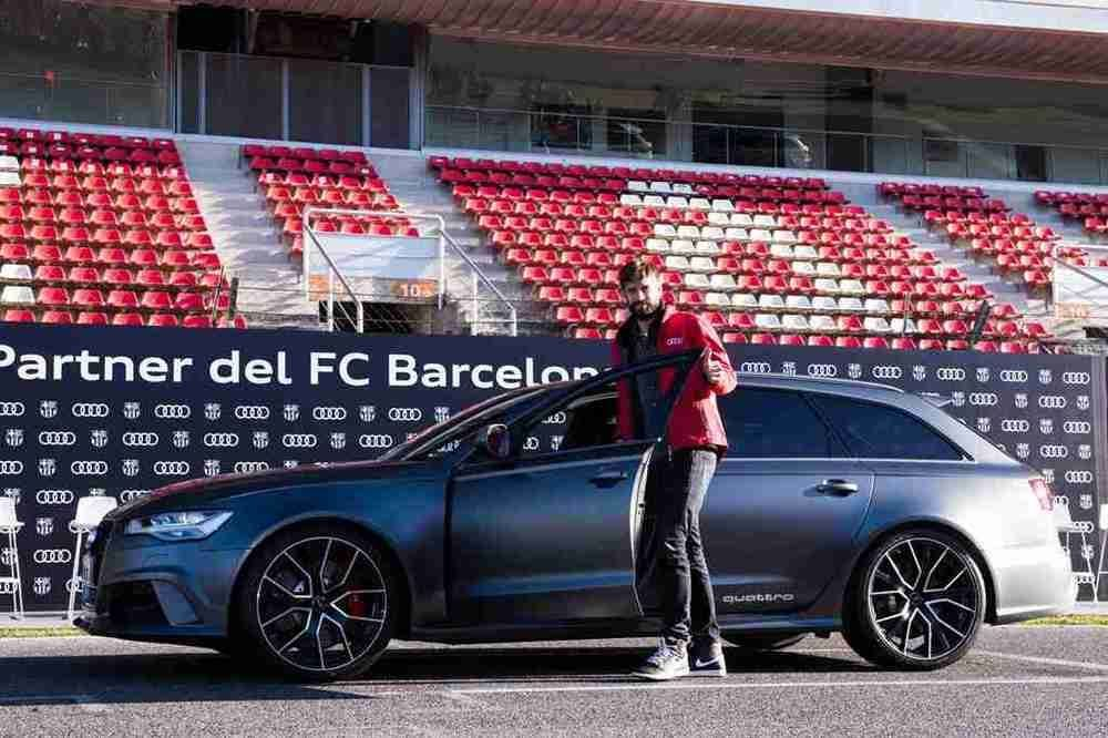 Gerard Pique Audi Barca