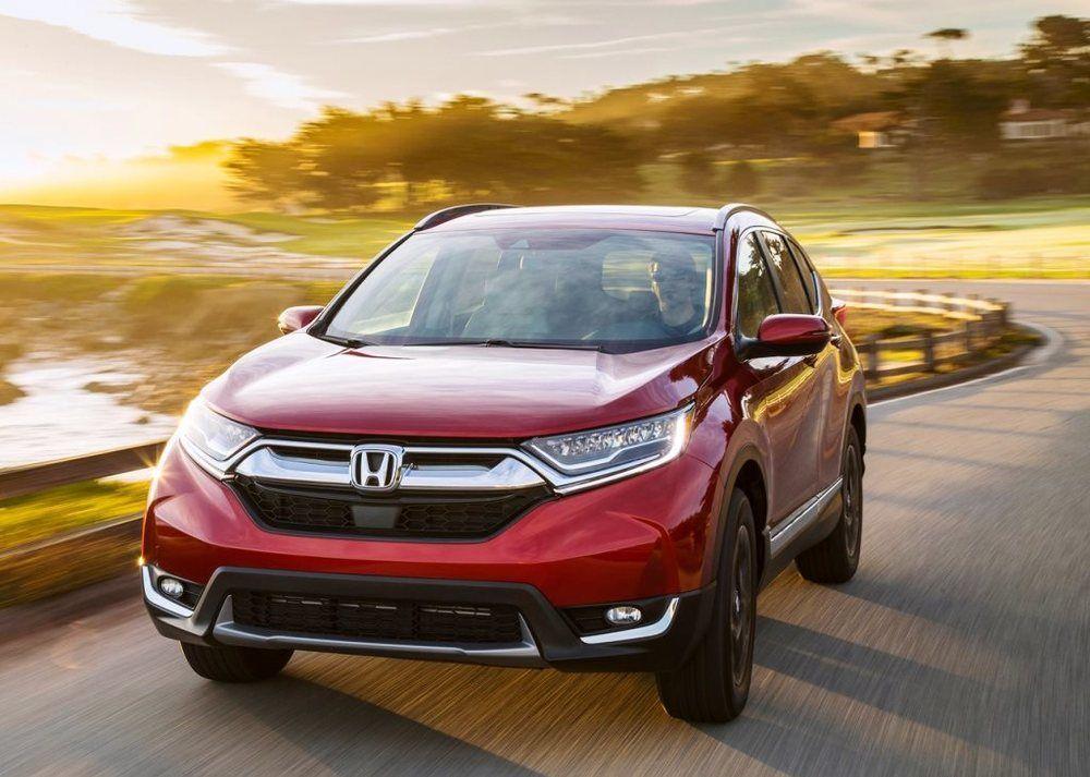 Honda CR V 2018 Front - 2