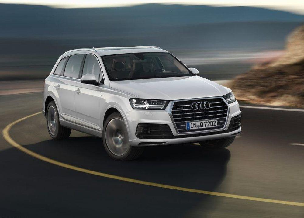 Audi Q7 2018 Front - 2