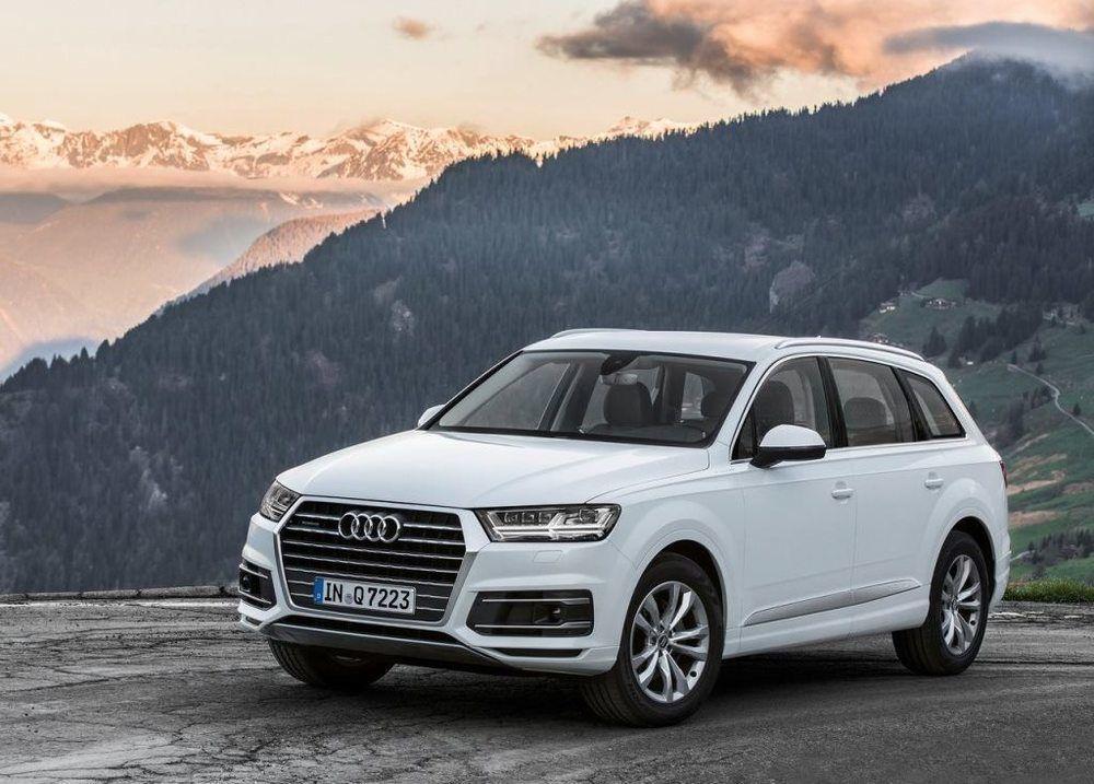Audi Q7 2018 Front