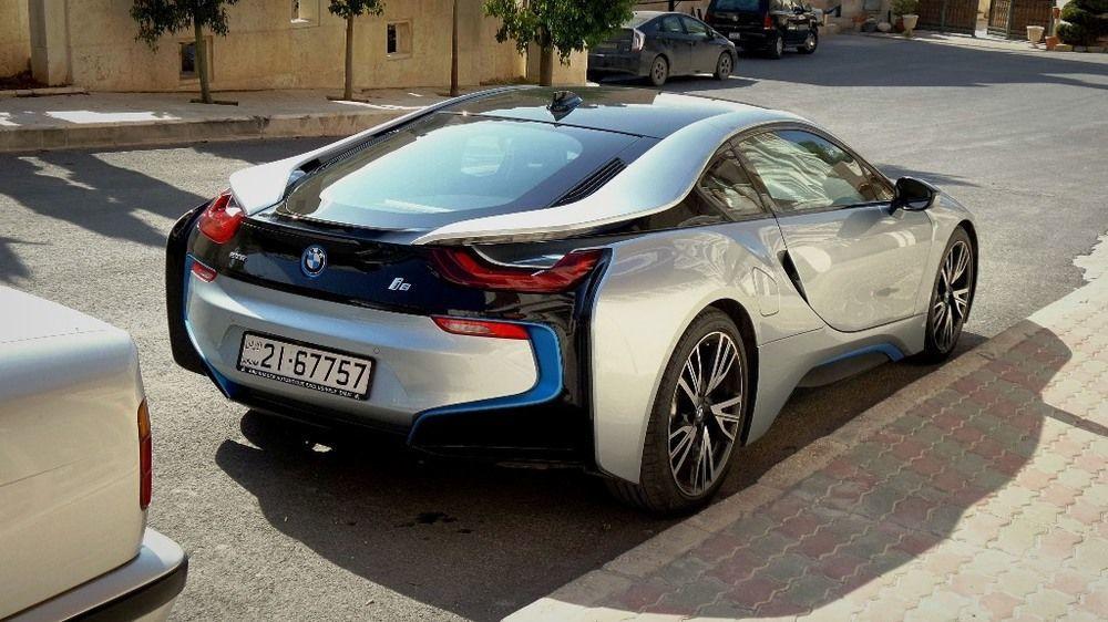 BMW I8 2017 Rear