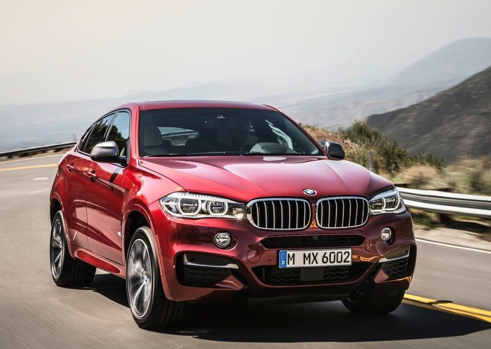 BMW X6 2018 Front