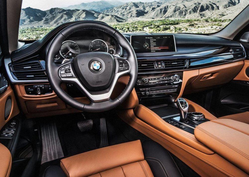 BMW X6 Interior 2018
