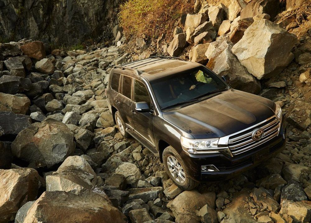 Toyota Land Cruiser 2018 Top