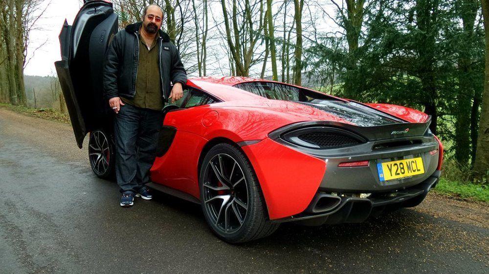 McLaren 570S Ghaith Madadha