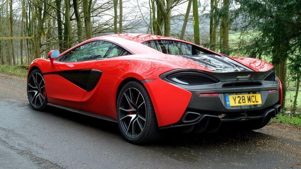 McLaren 570S 2018 Rear