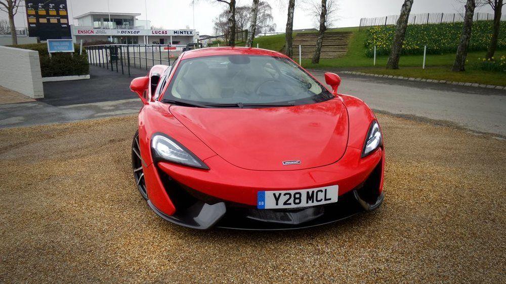 McLaren 570S 2018 Front