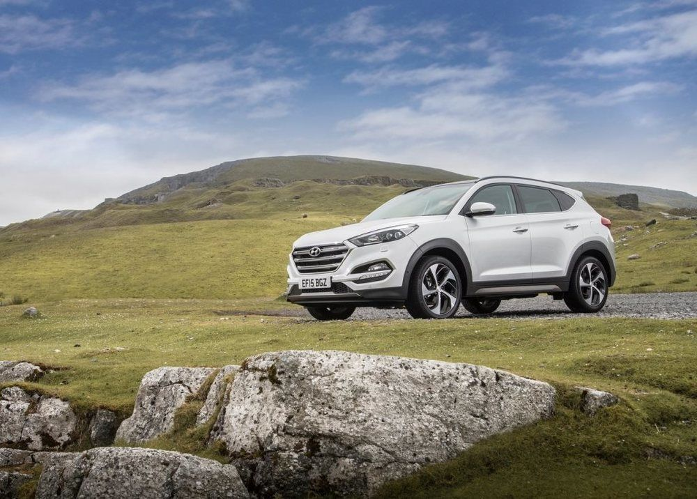 Hyundai Tucson 2018 Front