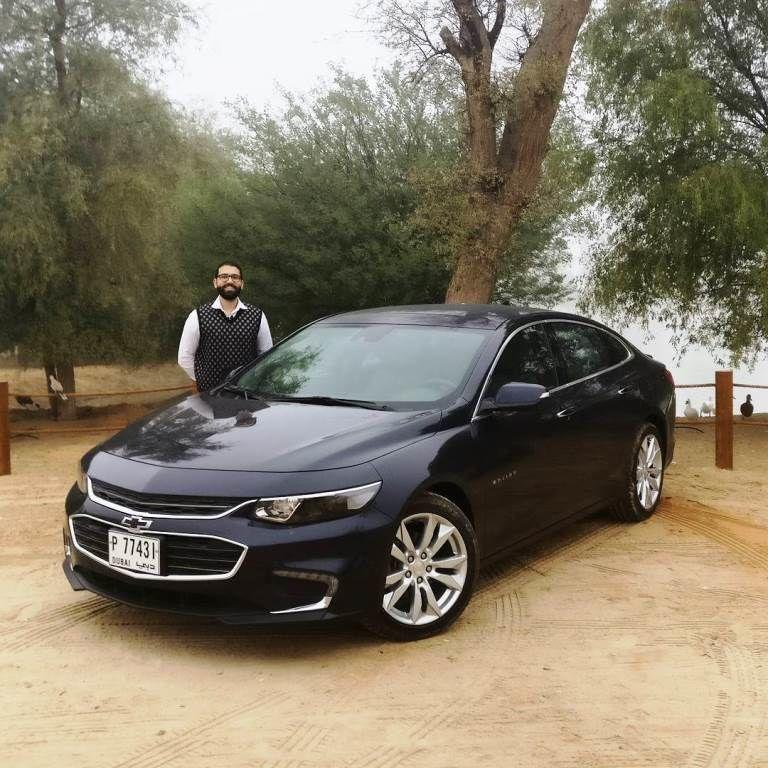 Chevrolet Malibu 2018 Front