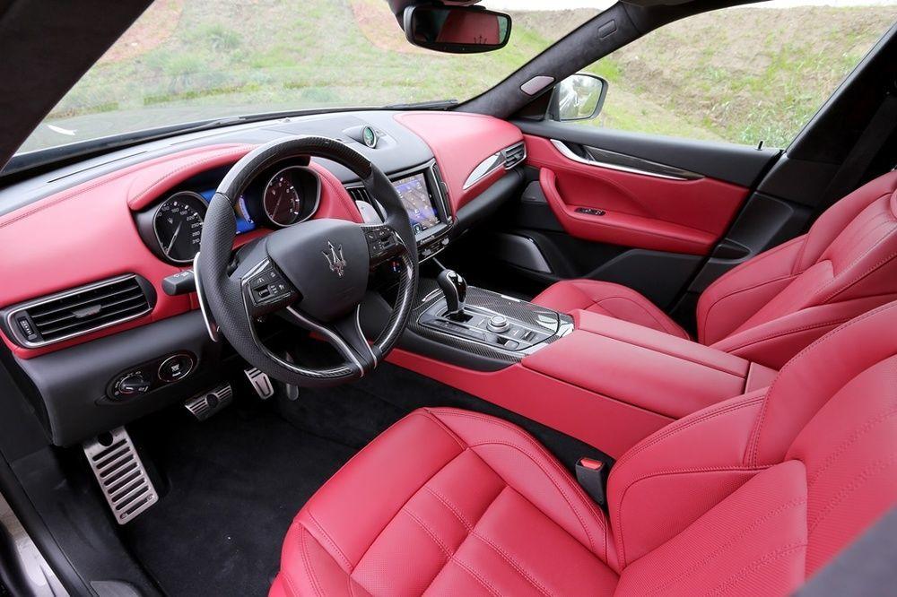 Maserati Levante 2018 interior