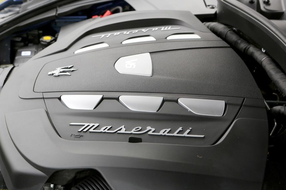 Maserati Levante Engine