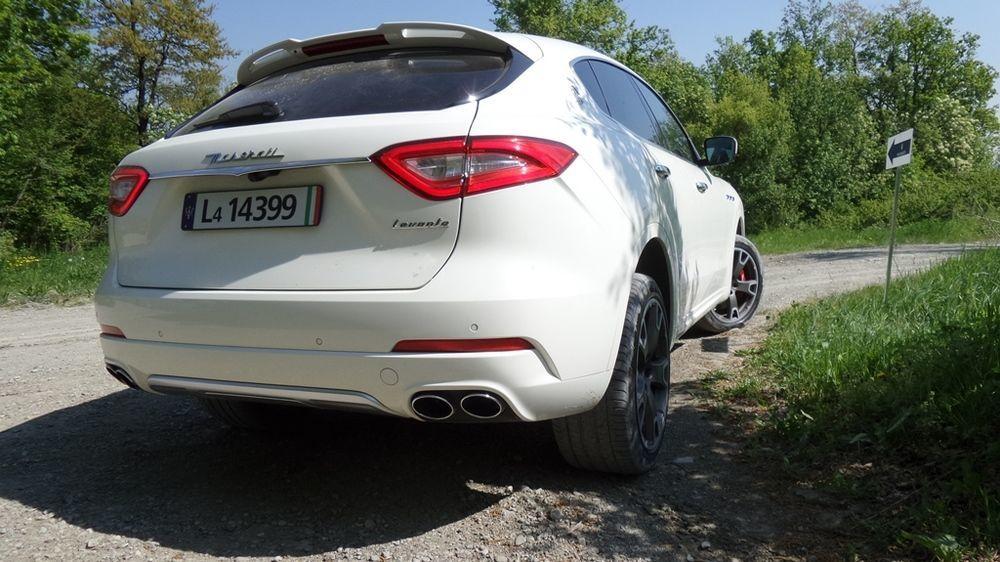 Maserati Levante 2018 Rear