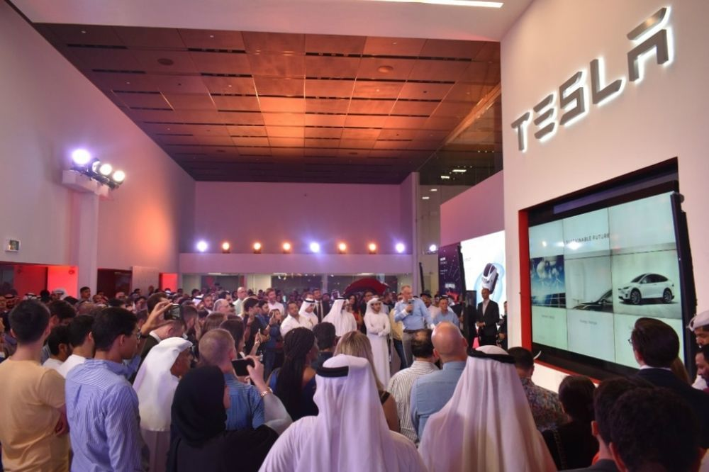 Tesla Showroom Dubai