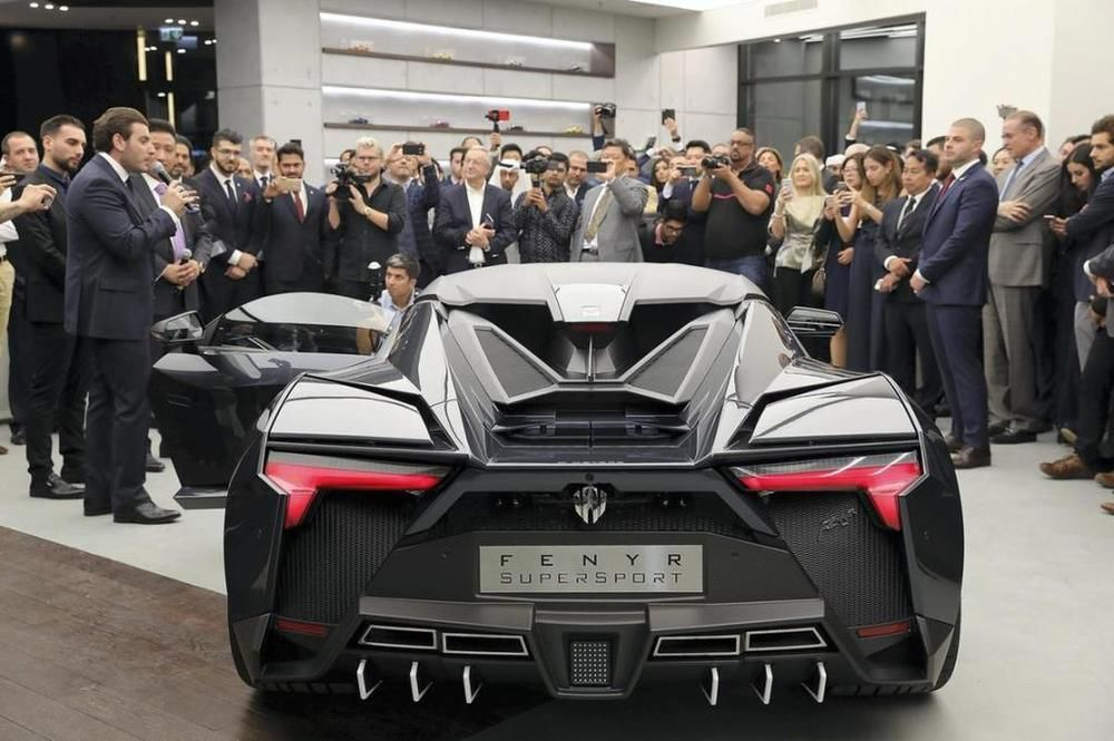 W Motors Showroom Dubai
