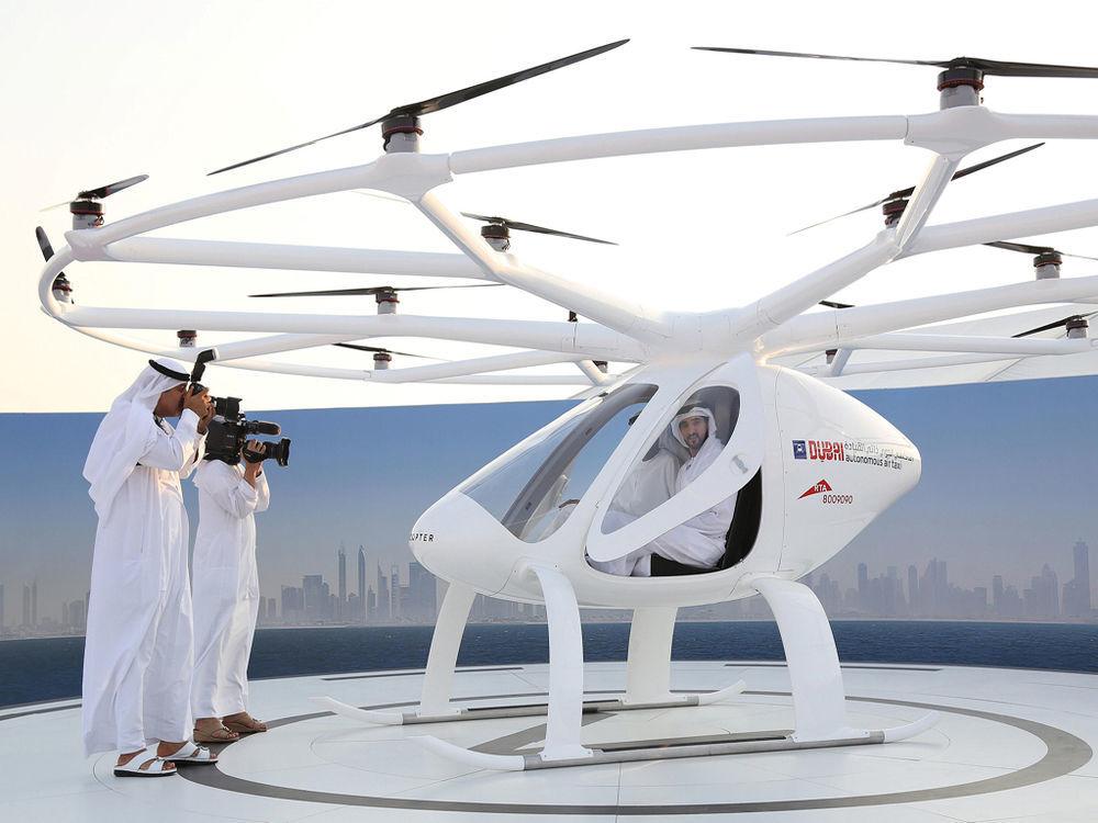 Drone Taxi UAE