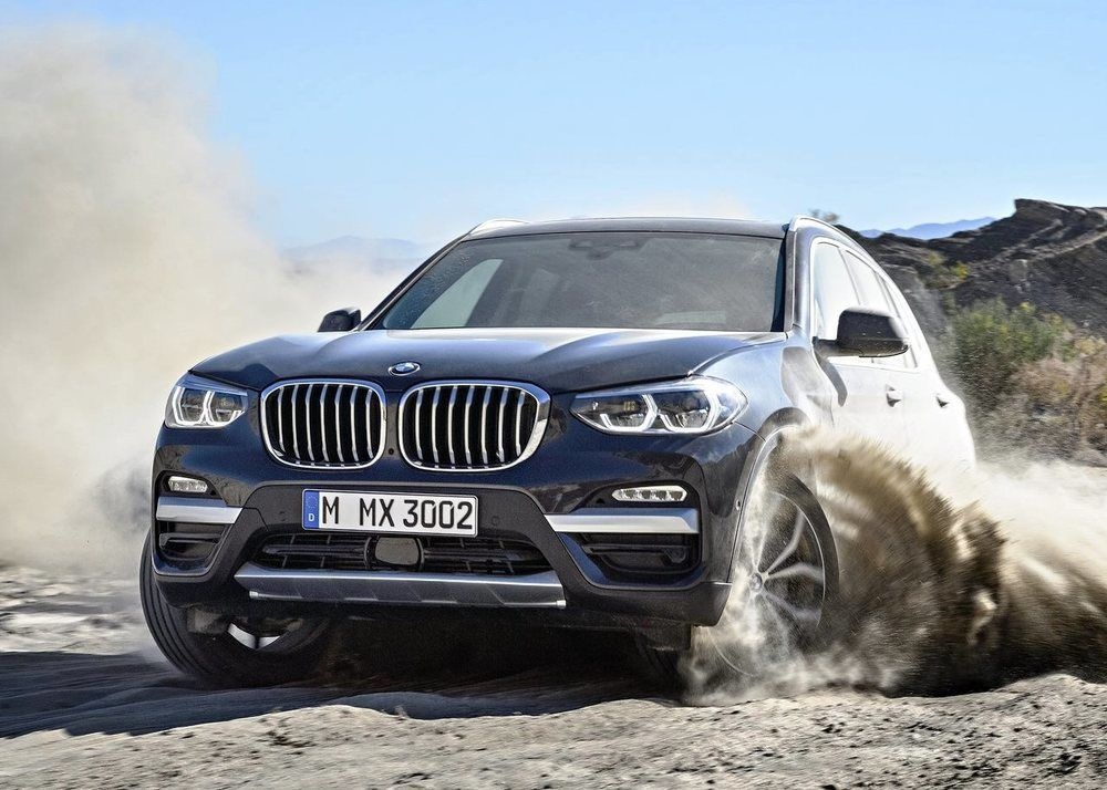 BMW X3 2018 Front
