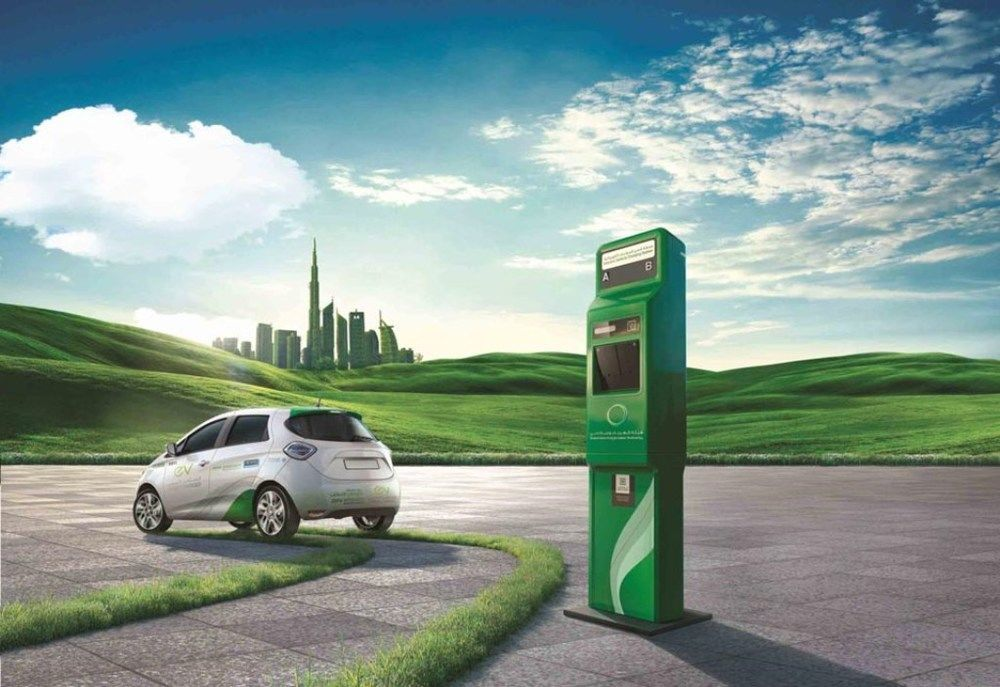 Free Parking EV Dubai