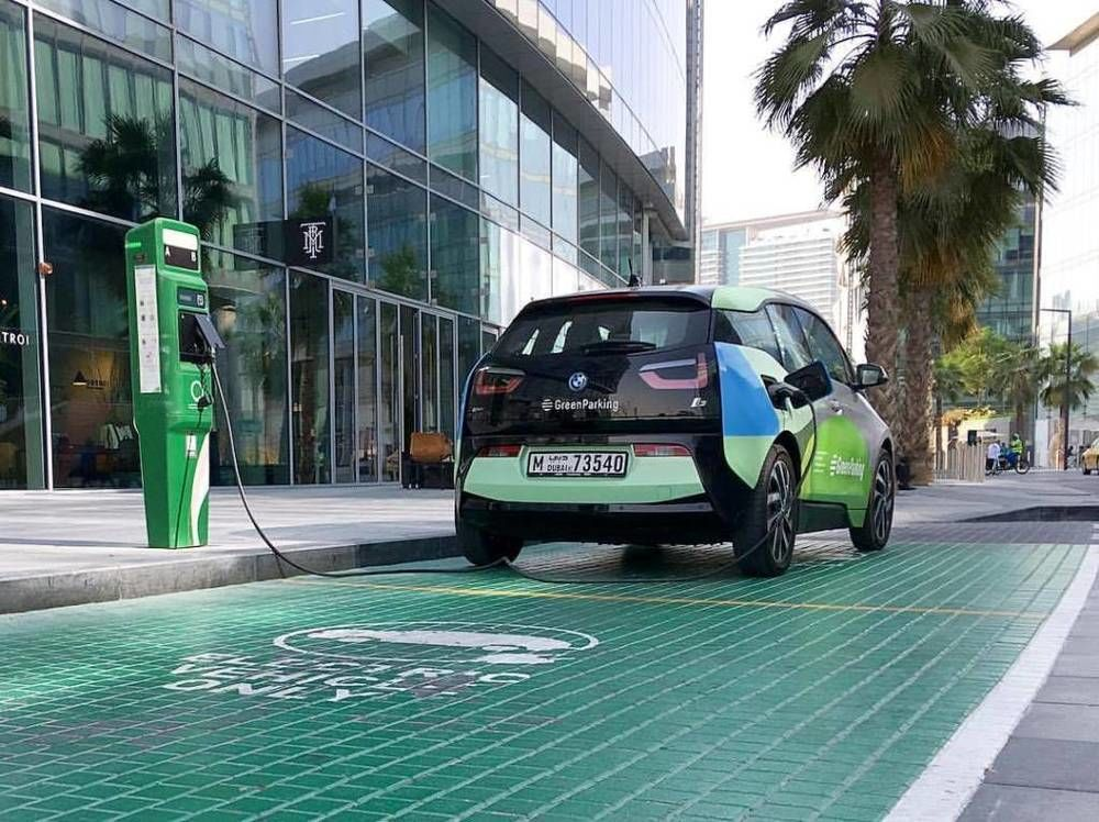 Electric vehicle Parking Dubai