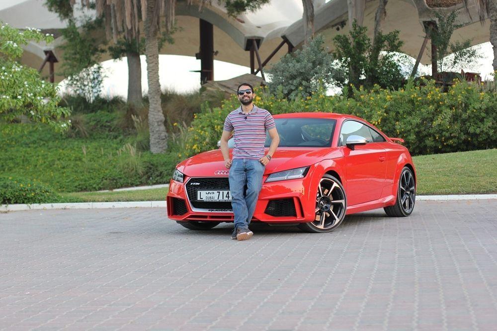 Audi TT RS 2018 Front