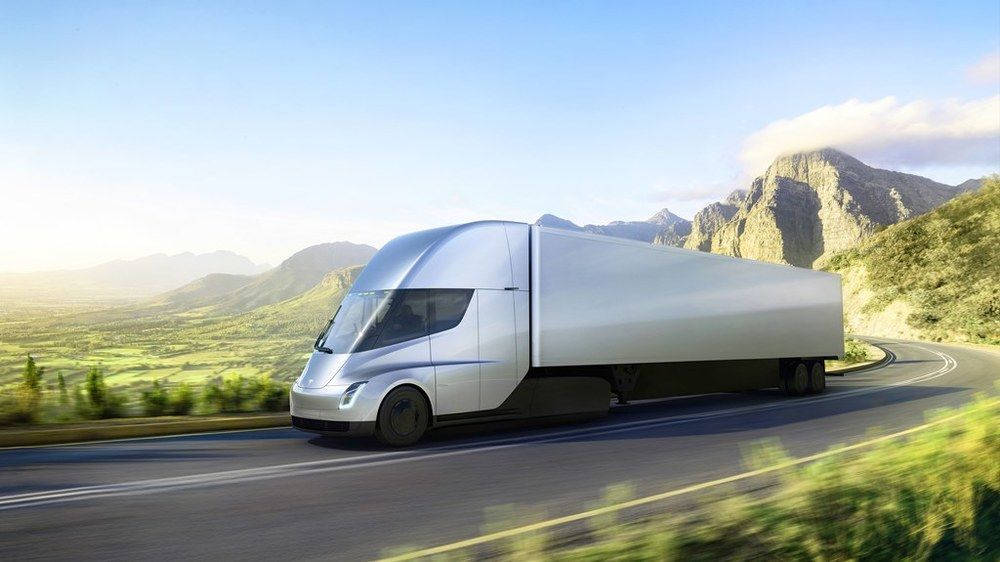 Tesla Semi Trucks UAE