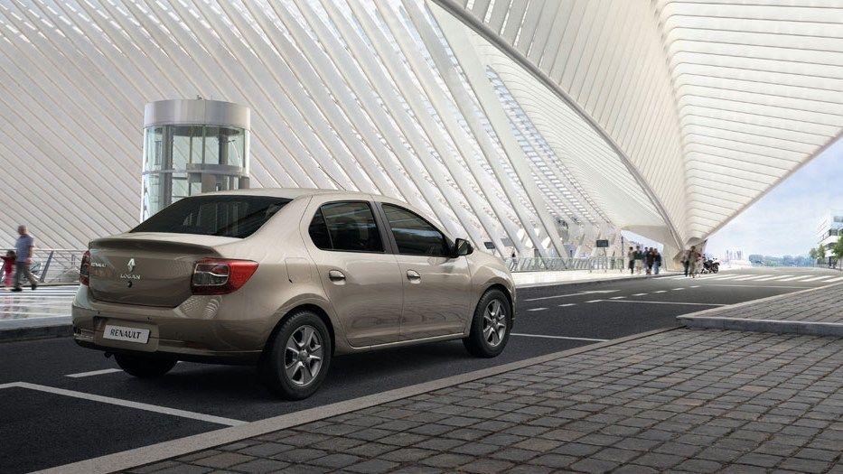 Renault Logan 2018 Rear