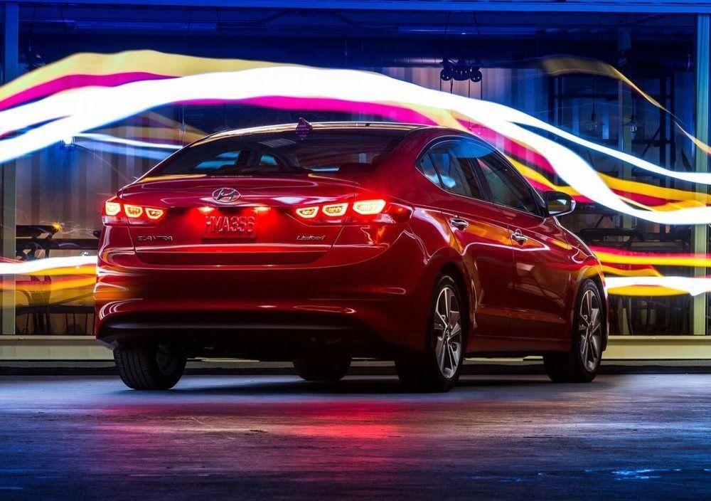 Hyundai Elantra 2018 Rear